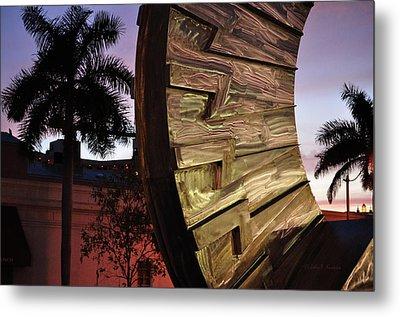 Metal Print featuring the photograph Sarasota Nights by John Knapko