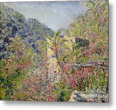 Sasso Valley Metal Print by Claude Monet