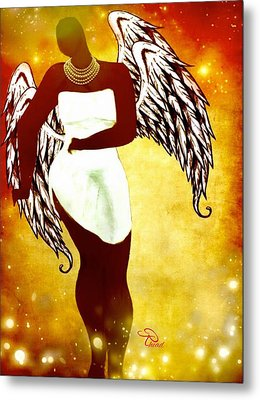 Sassy Angel Metal Print