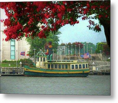 Savannah Belles Ferry - The Susie King Taylor Metal Print