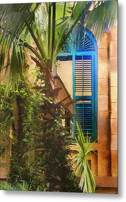Savannah Window Metal Print