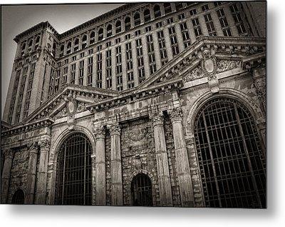 Save The Depot - Michigan Central Station Corktown - Detroit Michigan Metal Print