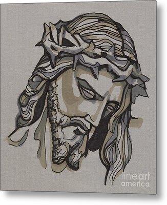 Saviour No 3 Metal Print by Edward Ruth