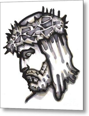 Saviour No 4 Metal Print by Edward Ruth