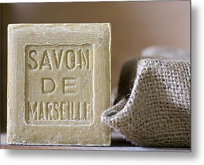 Savon De Marseille Metal Print by Frank Tschakert
