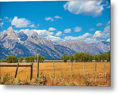 Metal Print featuring the photograph Saw Tooth Mountains  by Robert Pearson