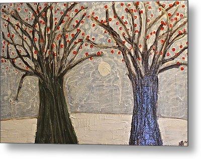 Sawsan's Trees Metal Print by Mario Perron