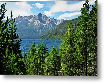 Sawtooth Serenity II Metal Print by Greg Norrell