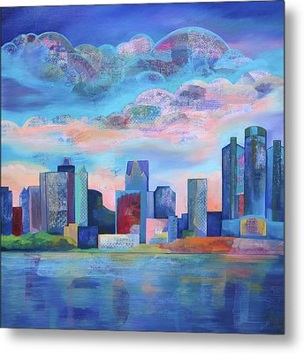 Say Nice Things About Detroit Metal Print by Shadia Derbyshire