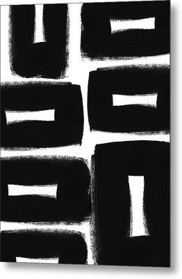 Scandi Boxes 2- Art By Linda Woods Metal Print