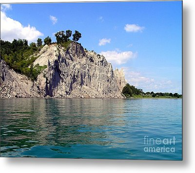 Scarborough Bluffs-lake View Metal Print by Susan  Dimitrakopoulos