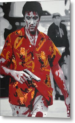 Scarface 2013 Metal Print by Luis Ludzska