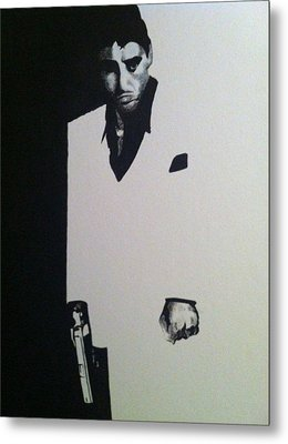Scarface  Metal Print by Davor Sintic