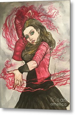 Scarlet Witch  Metal Print