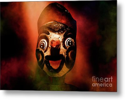 Scary Side Show Puppet Metal Print by Jorgo Photography - Wall Art Gallery