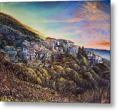 Scattered Clouds Metal Print by Michel Angelo Rossi
