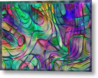 Scattered Rainbow Metal Print by Jack Zulli