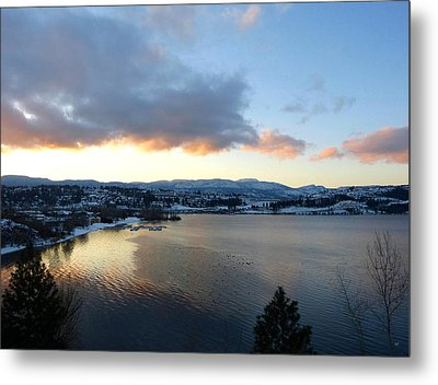 Metal Print featuring the photograph Scenic Lake Country by Will Borden