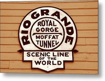Scenic Line Of The World Metal Print by David Lee Thompson