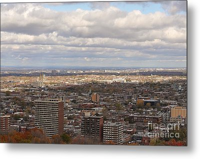 Scenic View Of Montreal Metal Print by Reb Frost