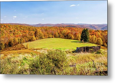 Scenic West Virginia Autumn Countryside Metal Print