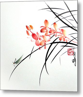 Scent Attraction Metal Print by Ming Yeung