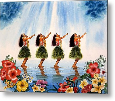 Scent Of Paradise Metal Print by John YATO