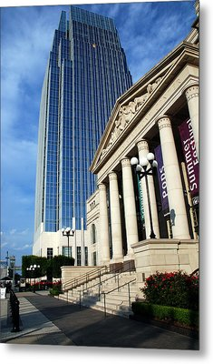 Schermerhorn Symphony Center Nashville Metal Print by Susanne Van Hulst