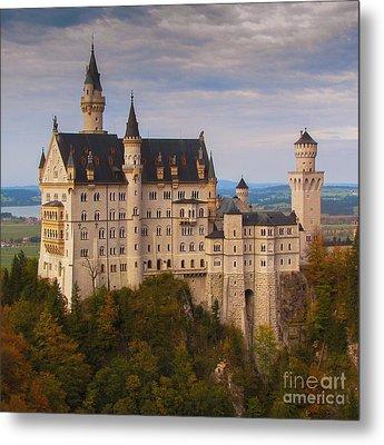 Metal Print featuring the photograph Schloss Neuschwanstein by Franziskus Pfleghart