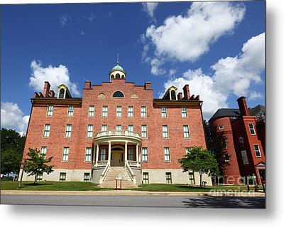 Schmucker Hall Gettysburg Theological Seminary Metal Print by James Brunker
