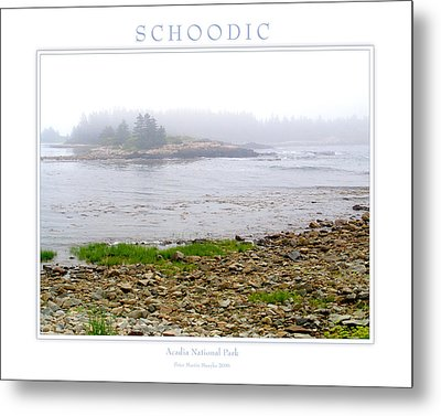 Schoodic Metal Print by Peter Muzyka