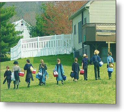School Is Out Metal Print