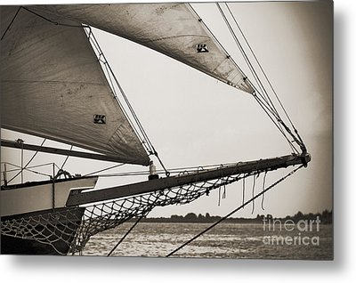 Schooner Pride Tall Ship Charleston Sc Metal Print