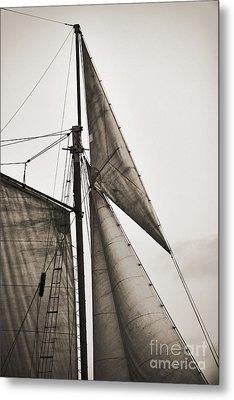 Schooner Pride Tall Ship Yankee Sail Charleston Sc Metal Print