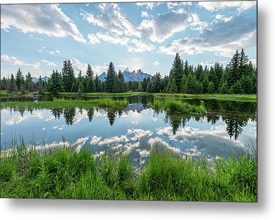 Metal Print featuring the photograph Schwabacher's Landing by Dustin LeFevre