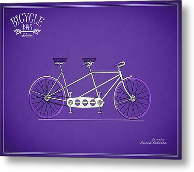 Schwinn Bicycle 1945 Metal Print