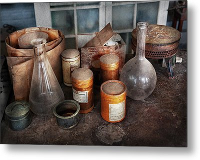 Science - Chemist - Ready To Experiment Metal Print by Mike Savad