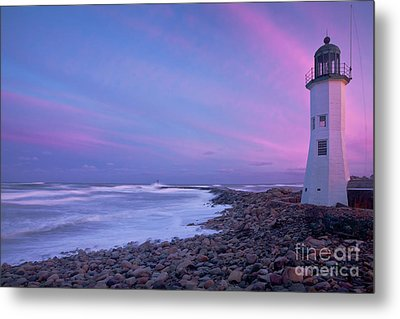 Scituate Sunset  Metal Print by Susan Cole Kelly
