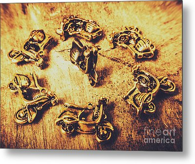 Scooting Around Metal Print by Jorgo Photography - Wall Art Gallery