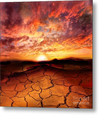Scorched Earth Metal Print