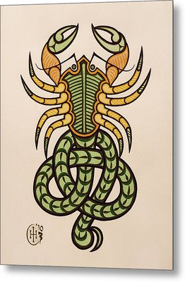 Scorpio Metal Print by Ian Herriott