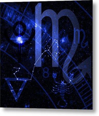 Scorpio Metal Print by JP Rhea