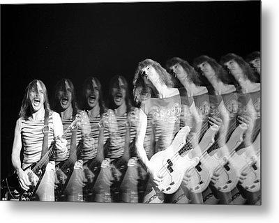 Scorpions Metal Print by Sue Arber