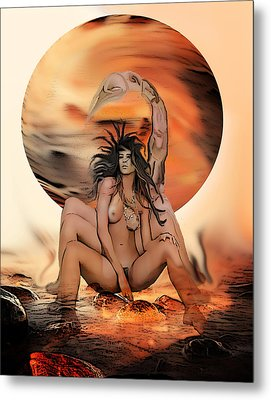 Scorpiussy Metal Print by Tbone Oliver