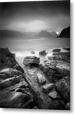Scotland Elgol Metal Print by Nina Papiorek