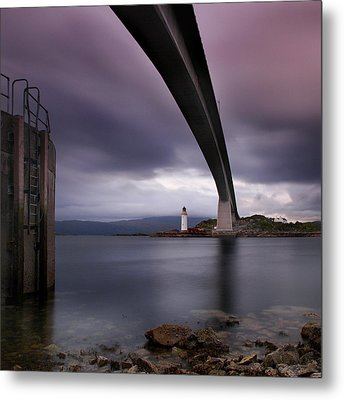 Scotland Skye Bridge Metal Print by Nina Papiorek