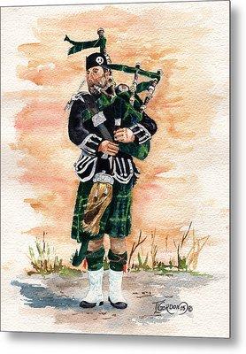 Scotland The Brave Metal Print