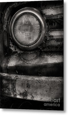 Scotopic Vision 7 - Headlight Metal Print by Pete Hellmann