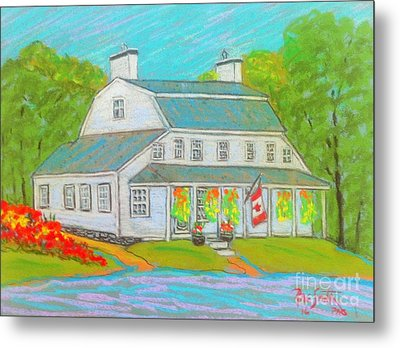 Scott Manor House  Metal Print by Rae  Smith