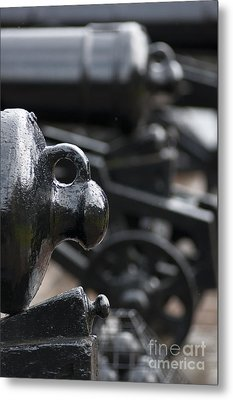 Scottish Canons Metal Print